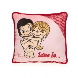 фото Подушка декоративная Love is... «First date»