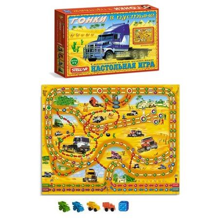 Купить Игра настольная Стеллар «Гонки в пустыне»