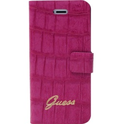 фото Чехол Guess Slim Folio Case Croco для iPhone 5