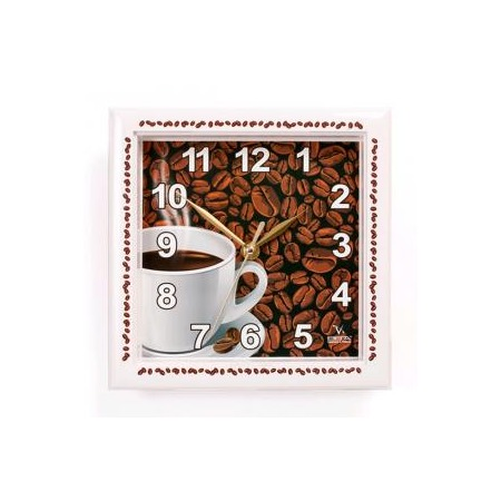 Купить Часы настенные Вега П 3-791-12 «Кофе»