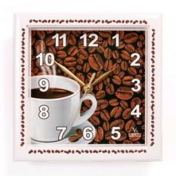 фото Часы настенные Вега П 3-791-12 «Кофе»
