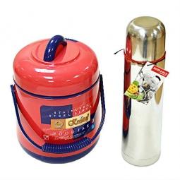 фото Термос пищевой Kristal SK-905 и термос для напитков Kristal. В ассортименте