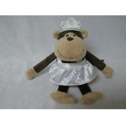 фото Мягкая игрушка Gulliver «Обезьянка Снегурочка». Размер: 21 см