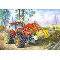 Купить Пазл 60 элементов Castorland «Трактор»