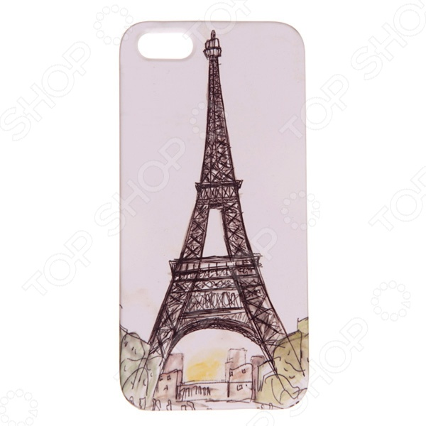 Чехол для iPhone 5 Mitya Veselkov «Париж» чехол для iphone 6 mitya veselkov ретро париж