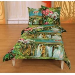 фото Комплект постельного белья Диана «Свидание с любимым». 1,5-спальный