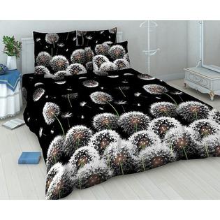 Купить Комплект постельного белья Василиса «Белые одуванчики». 2-спальный