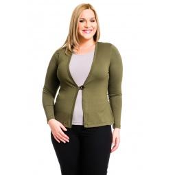 фото Жакет Mondigo XL 426. Цвет: хаки. Размер одежды: 52