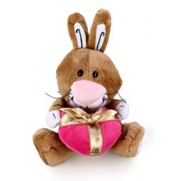 фото Мягкая игрушка Fluffy Family «Зайчик с сердцем»