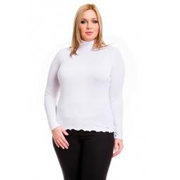 фото Водолазка Mondigo XL 1474. Цвет: белый. Размер одежды: 52