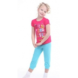 фото Комплект для девочки: джемпер и капри Свитанак 606545. Рост: 110 см. Размер: 30