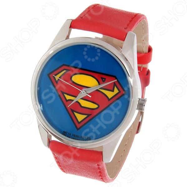 Часы наручные Mitya Veselkov «Супермен» Color часы наручные mitya veselkov райский сад color