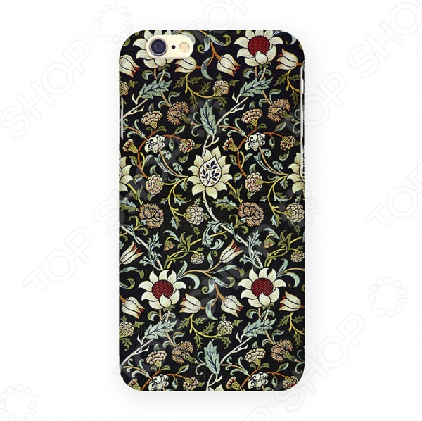 Чехол для iPhone 6 Mitya Veselkov «Цветочный ковер» чехлы для телефонов mitya veselkov чехол для iphone 6 салатовый