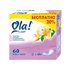 фото Ежедневные прокладки Ola Daily DEO. Вид: Лилия (60 шт.)