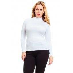 фото Водолазка Mondigo XL 036. Цвет: белый. Размер одежды: 48