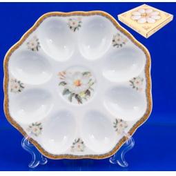 Купить Менажница для яиц Elan Gallery «Белый шиповник» 501611