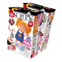 фото Набор для изготовления мягкой игрушки Plush Heart «Алиса и Белый Кролик»