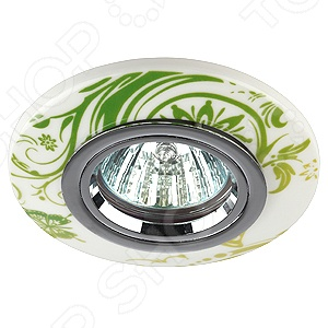 Светильник светодиодный встраиваемый Эра DK62 CH/WH/GR эра dk 55 ch wh