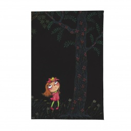 фото Обложка для паспорта Mitya Veselkov «Девочка в розовом платье ночью»