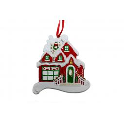 фото Елочное украшение Crystal Deco «Новогодний домик» 1707823