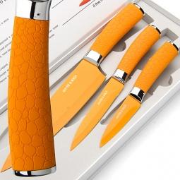 фото Набор ножей Mayer&Boch Turtle. Цвет: оранжевый