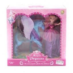 фото Набор игровой с куклой Shantou Gepai «Лошадка» Magic Pegasus