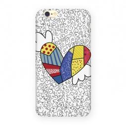 фото Чехол для iPhone 6 Mitya Veselkov «Цветное сердце с крыльями»