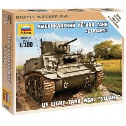 фото Сборная модель танка Звезда «Американский танк. Стюарт»