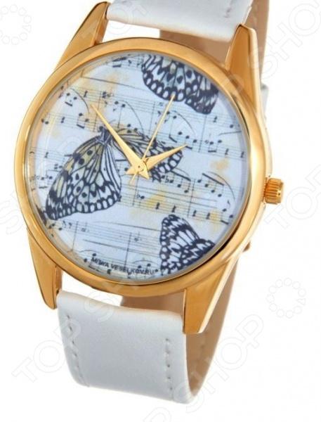 Часы наручные Mitya Veselkov «Бабочки и ноты» Shine