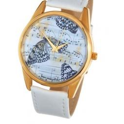 Купить Часы наручные Mitya Veselkov «Бабочки и ноты» Shine