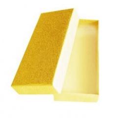 фото Коробка подарочная Феникс-Презент «Песочный». Размер: M (12х5,2 см). Высота: 2 см