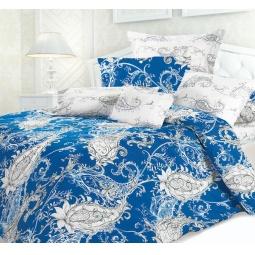 фото Комплект постельного белья Унисон «Сапфир». Семейный