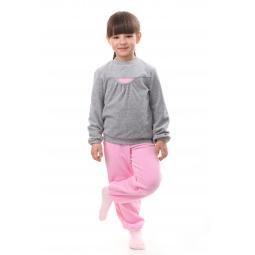 фото Комплект для девочки: джемпер и брюки Свитанак 645891. Рост: 98 см. Размер: 28
