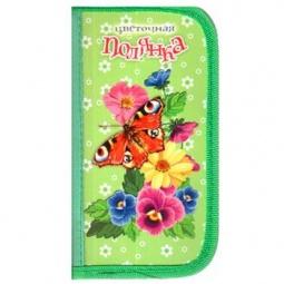 фото Пенал Проф-Пресс «Бабочка и яркие цветы»
