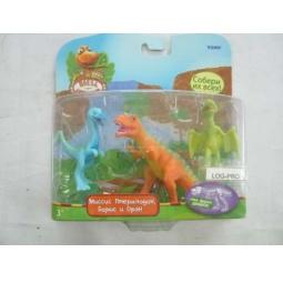 Купить Набор фигурок динозавров Поезд Динозавров Т57087