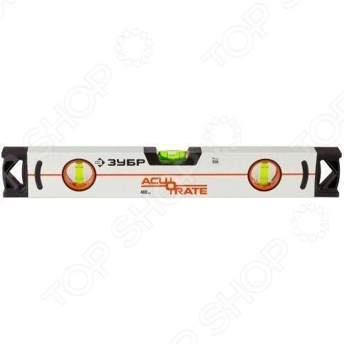 Подробнее о Уровень Зубр Acurate 3 34593 коробчатый усиленный уровень 100 см зубр acurate 3 34593 100