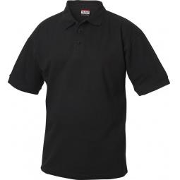 фото Рубашка-поло Clique «Линкольн». Цвет: черный. Размер одежды: XL