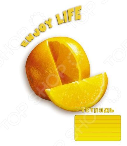 Тетрадь в клетку Пересвет «Сочная жизнь». В ассортименте