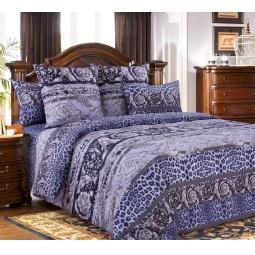 фото Комплект постельного белья Белиссимо «Корнет». 2-спальный. Цвет: сиреневый