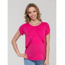 Купить Блузка для беременных Nuova Vita 1329.2. Цвет: малиновый