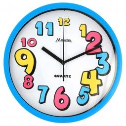 фото Часы настенные Marmiton «Разноцветные цифры»
