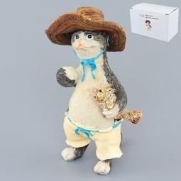 Купить Фигурка декоративная Elan Gallery Кот-рыбак