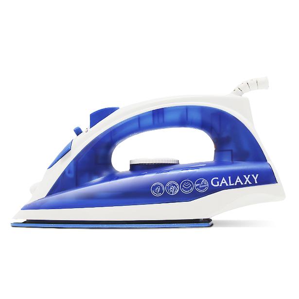 фото Утюг Galaxy GL 6121. Цвет: синий