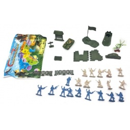 фото Набор игровой для мальчика Shantou Gepai «Военный» HD09-1E
