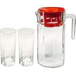 Купить Набор: кувшин и 6 стаканов Pasabahce Kosem 97415