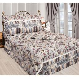 фото Комплект постельного белья Сова и Жаворонок «Пуговка». 1,5-спальный. Размер наволочки: 70х70 см — 2 шт