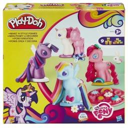 фото Набор пластилина игровой Hasbro «Создай любимую Пони»