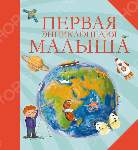 Первая энциклопедия малышаУниверсальная справочная литература для детей<br>Эта книга познакомит малышей с удивительным миром знаний, позволит совершить увлекательное путешествие в прошлое и узнать самые интересные факты из жизни динозавров, проникнуть в глубины Вселенной, познакомиться с самыми удивительными животными, узнать, как устроено человеческое тело, как работают самые большие и самые маленькие, самые быстрые и самые надёжные автомобили. Книгу отличает: живой, доступный стиль изложения интересные факты на каждой странице оригинальные и забавные рисунки качественное полиграфическое исполнение.<br>