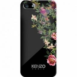 фото Чехол и пленка на экран Kenzo Exotic Cover для iPhone 5. Цвет: черный