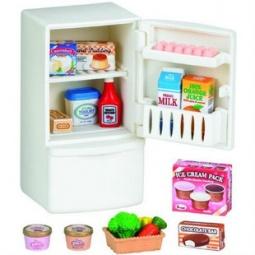 фото Игровой набор Sylvanian Families «Холодильник с продуктами»